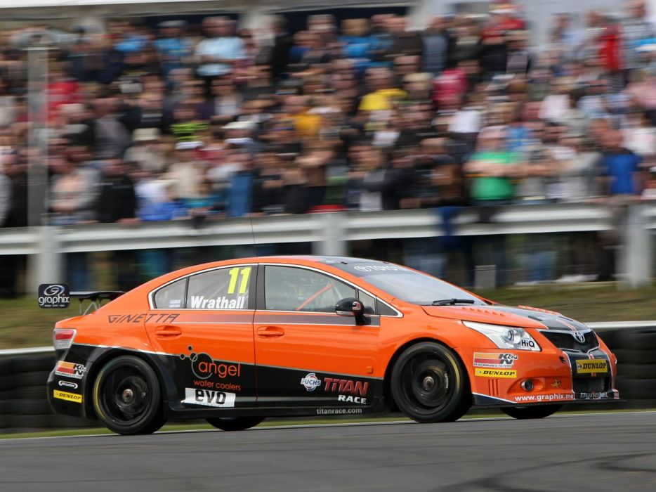2011 Toyota Avensis Sedan BTCC race racing  e wallpaper