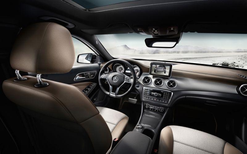2014 Mercedes Benz GLA Edition 1 interior h wallpaper