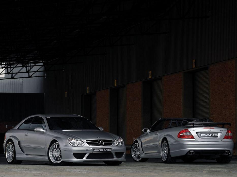 AMG Mercedes Benz CLK  e wallpaper