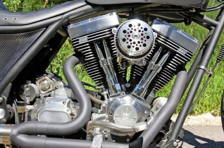 Darwin chopper custom engine y wallpaper