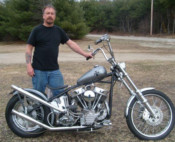 Harley Davidson Panhead chopper s_JPG wallpaper