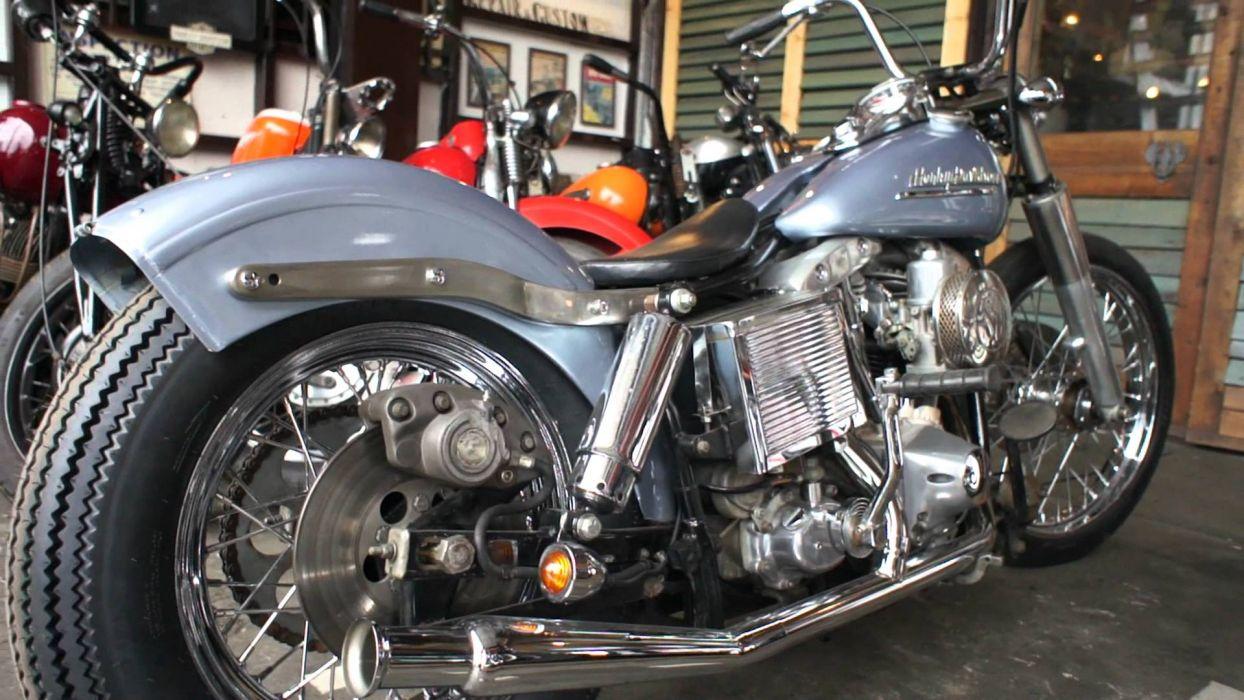 Harley Davidson Shovelhead        f wallpaper