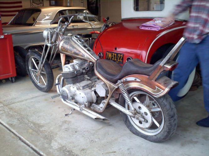 Honda CB750 Chopper d wallpaper