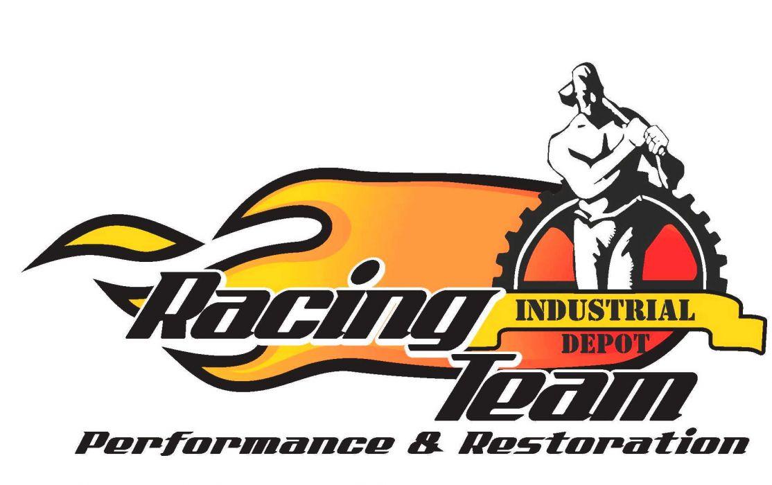 race racing logo da wallpaper
