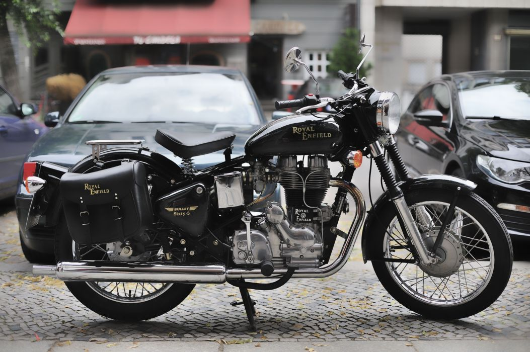 Royal Enfield Bullet Sixty-5     f wallpaper