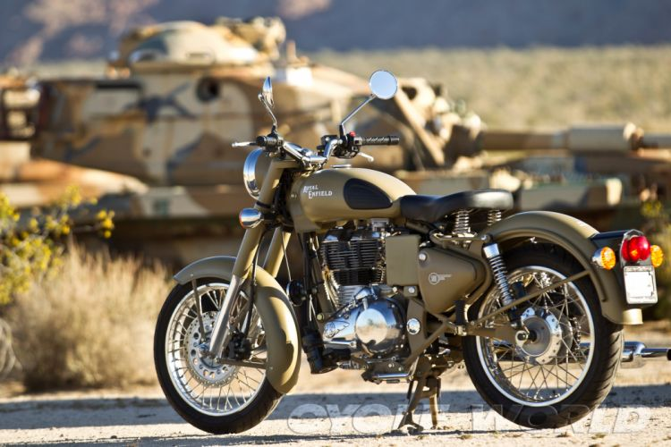 Royal Enfield Classic 500 f wallpaper