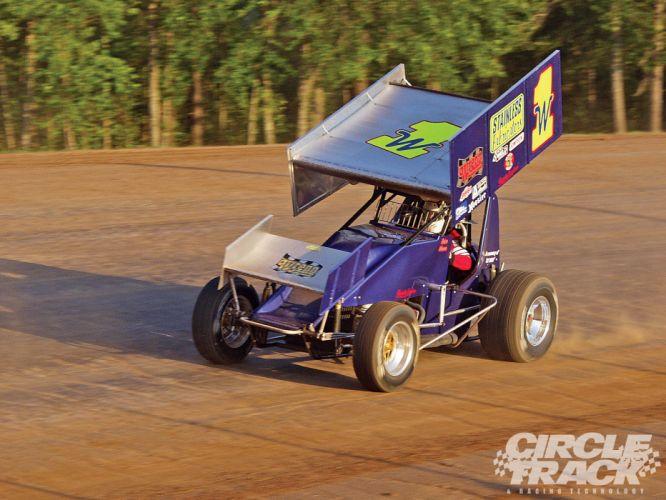 SPRINT-CAR race racing sprint b wallpaper