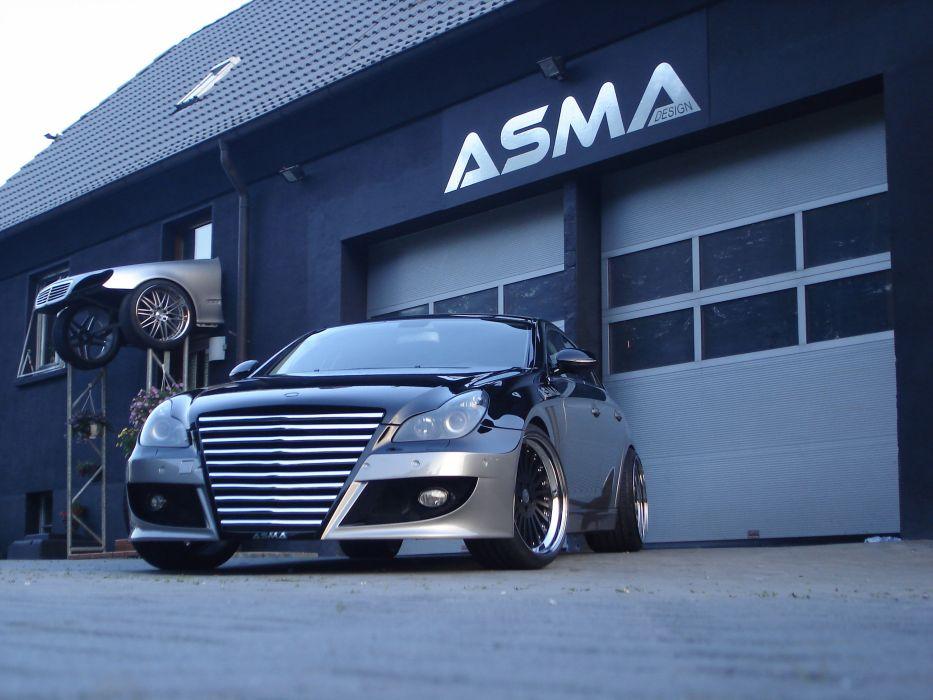 ASMA Mercedes-benz CLS Shark II wallpaper