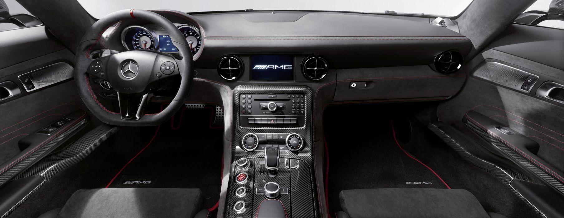 2014 Mercedes-Benz SLS AMG Coupe Black Series  wallpaper