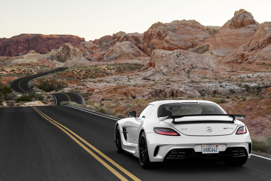 2014 Mercedes-Benz SLS AMG Coupe Black Series  wallpaper