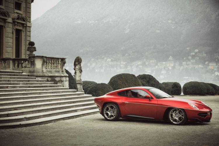 Alfa Romeo Disco Volante by Touring wallpaper