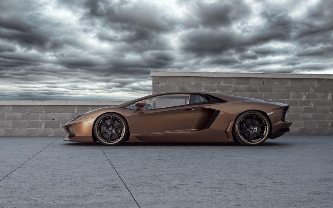 Wheelsandmore Lamborghini Aventador Rabbioso wallpaper