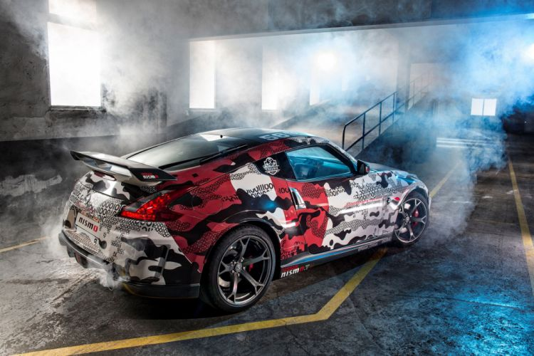 Nissan 370Z NISMO Gumball Picture wallpaper