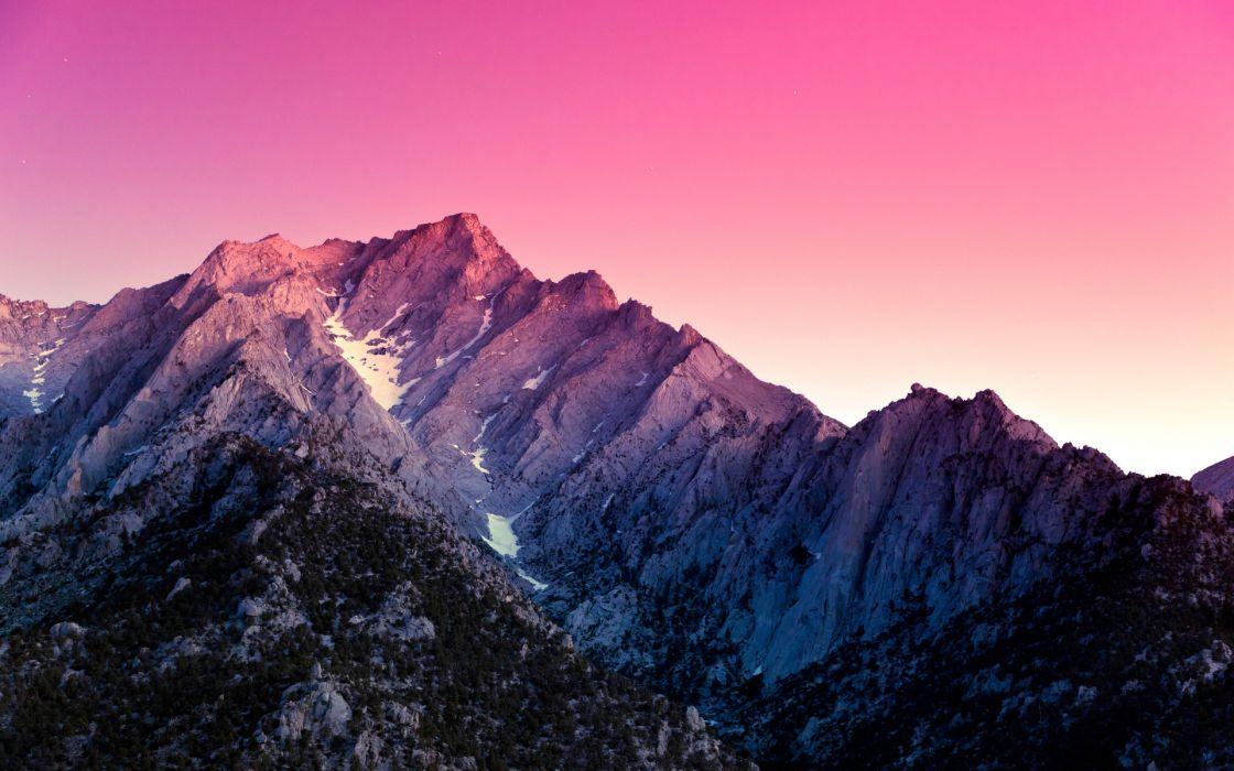 california snow wallpaper