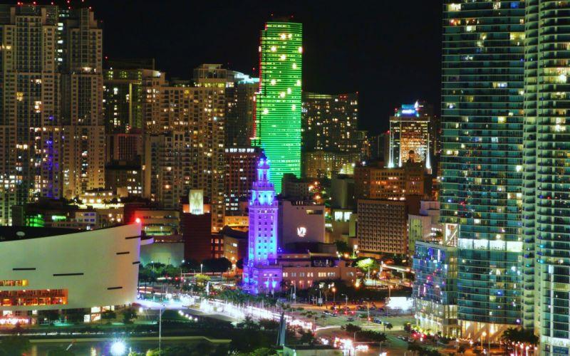 Florida Miami city wallpaper