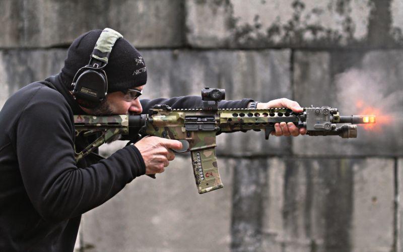 shot gun m4 weapon gun military wallpaper