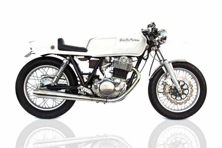 Deus-Ex Machina Custom Yamaha SR420 Cafe Racer t wallpaper