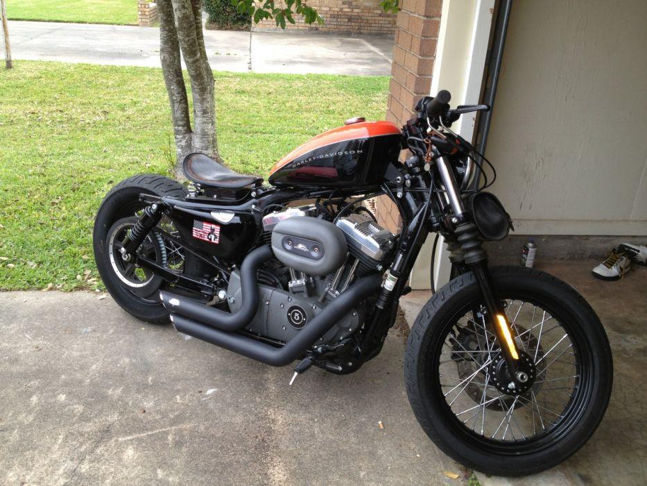 Harley Davidson Nightster   f wallpaper