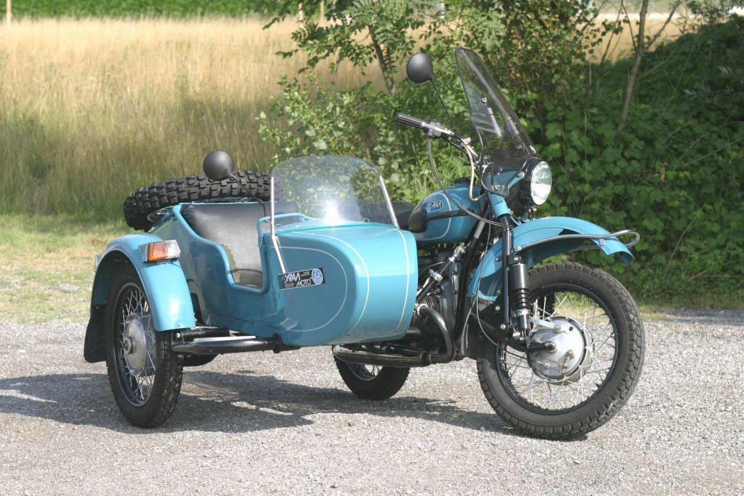 Ural Sidecar Motorcycle wallpaper