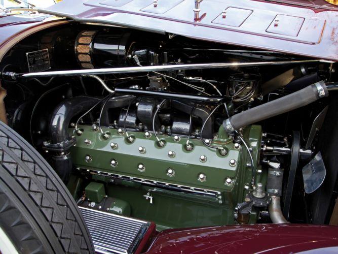 1932 Packard Twin Six Individual Custom Convertible Sedan by Dietrich luxury retro engine g wallpaper