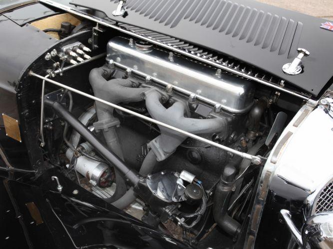 1936 Jaguar SS 100 Roadster retro s-s engine r wallpaper