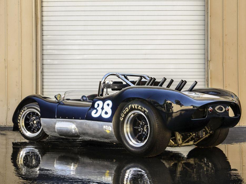 1964 Huffaker Genie Mk-10 USRRC race racing classic hot rod rods wallpaper