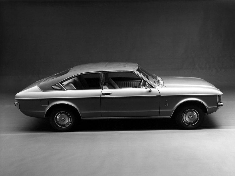 1974 Ford Granada Ghia Coupe UK-spec wallpaper
