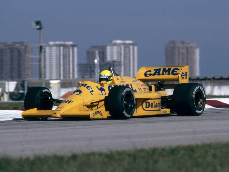 1987 Lotus 99T Formula One race racing f-1    t wallpaper