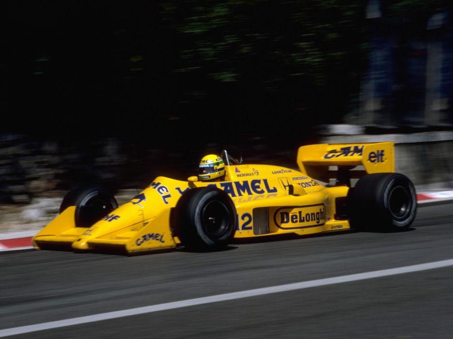 1987 Lotus 99T Formula One race racing f-1  4 wallpaper