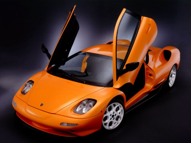 1999 Lamborghini L147 Canto supercar f wallpaper