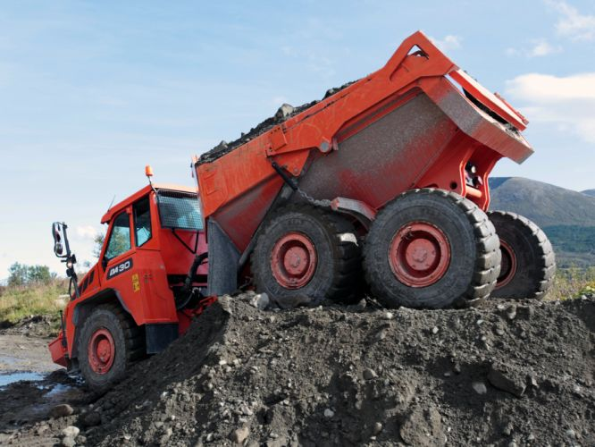 2011 Doosan DA30 6x6 construction t wallpaper