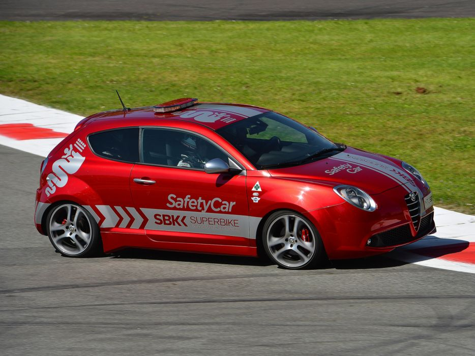 2013 Alfa Romeo MiTo Quadrifoglio Verde SBK Safety Car (955) tuning race racing     f wallpaper