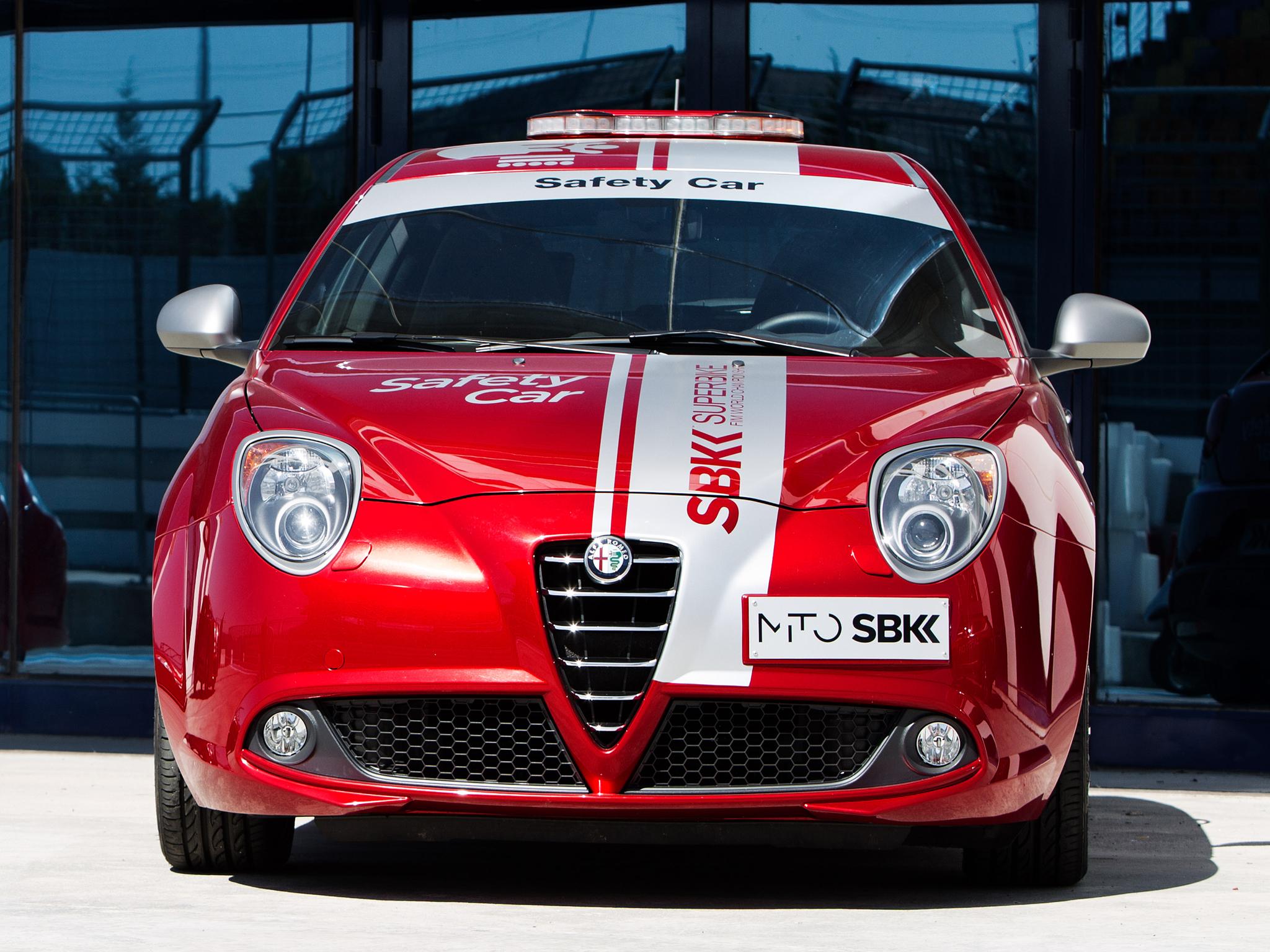 2013 Alfa Romeo MiTo Quadrifoglio Verde SBK Safety Car 955 tuning race racing ew wallpaper