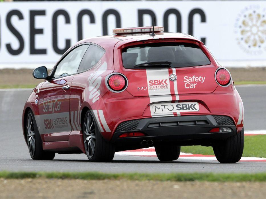 2013 Alfa Romeo MiTo Quadrifoglio Verde SBK Safety Car (955) tuning race racing   r wallpaper