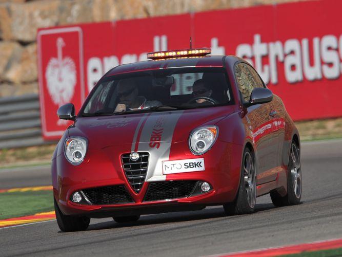 2013 Alfa Romeo MiTo Quadrifoglio Verde SBK Safety Car (955) tuning race racing e wallpaper