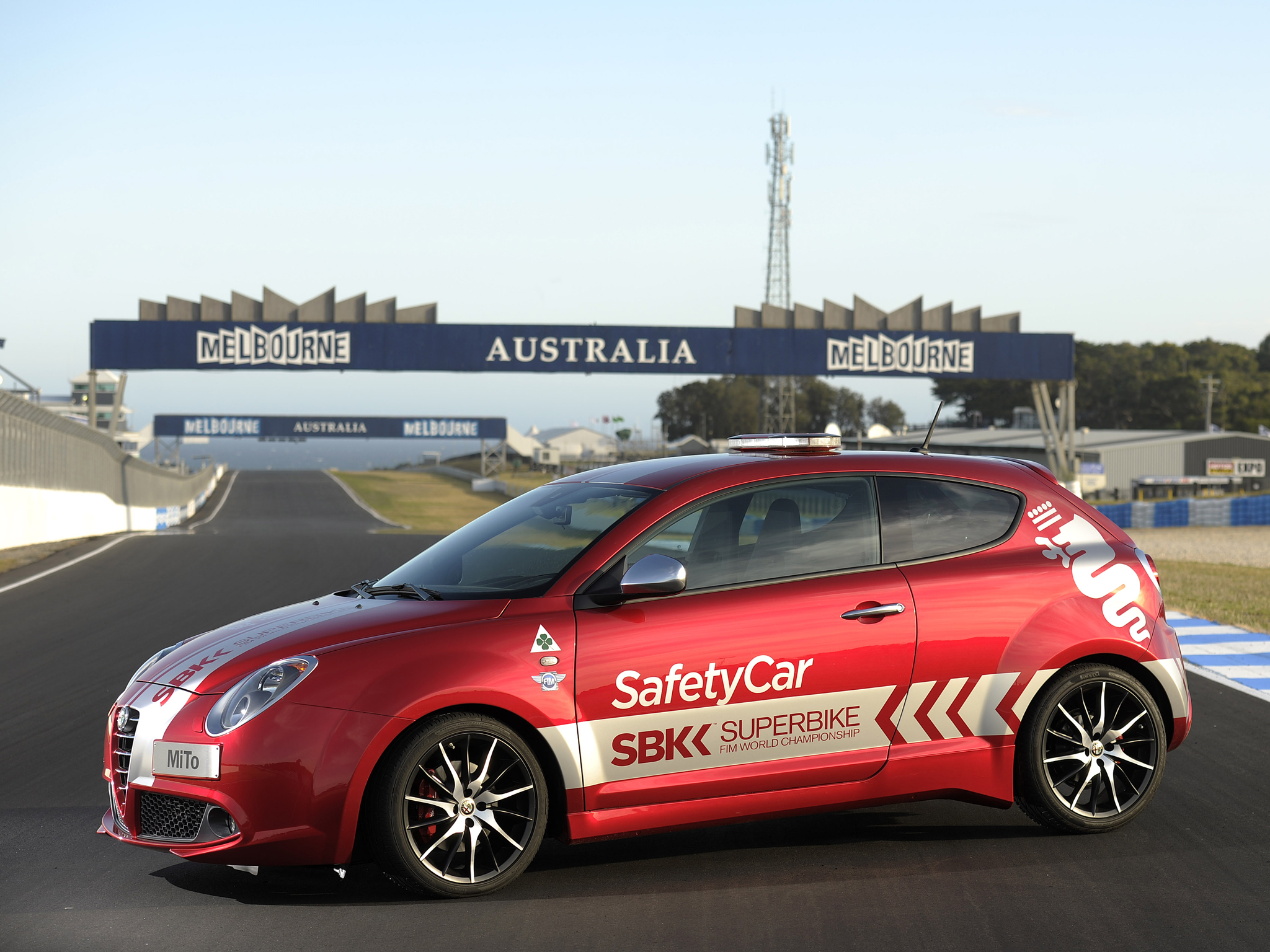 2013 Alfa Romeo Mito Quadrifoglio Verde Sbk Safety Car 955 Tuning Race Racing E Wallpaper 2048x1536 166079 Wallpaperup