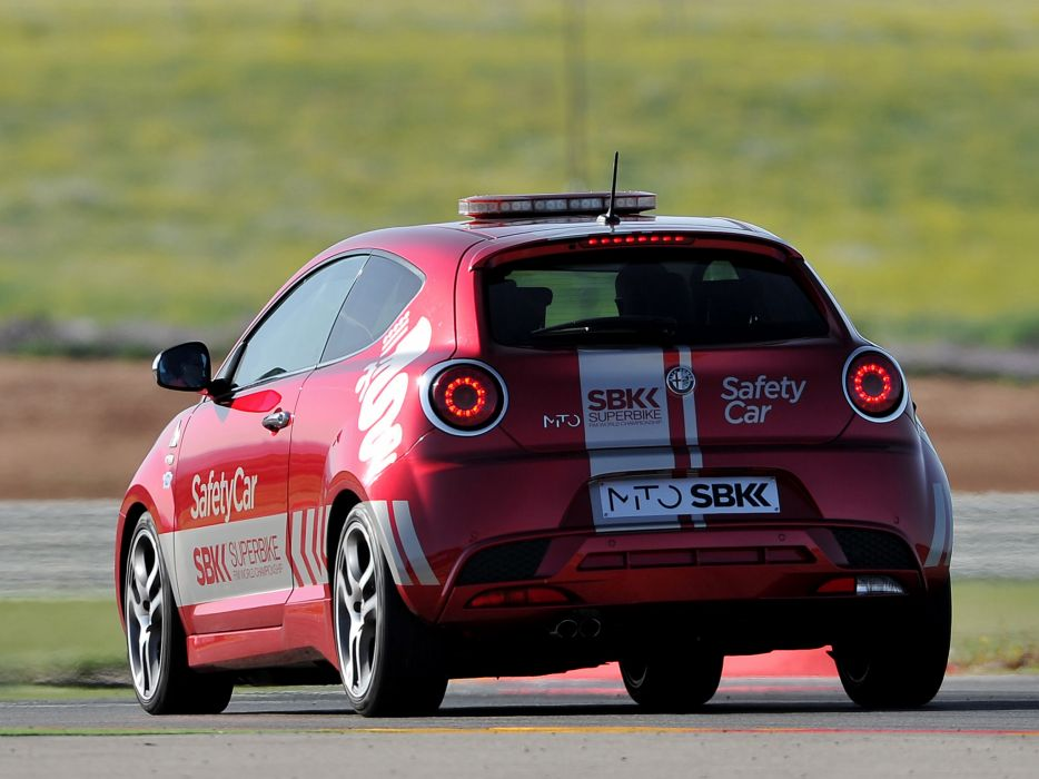 2013 Alfa Romeo MiTo Quadrifoglio Verde SBK Safety Car (955) tuning race racing  eb wallpaper