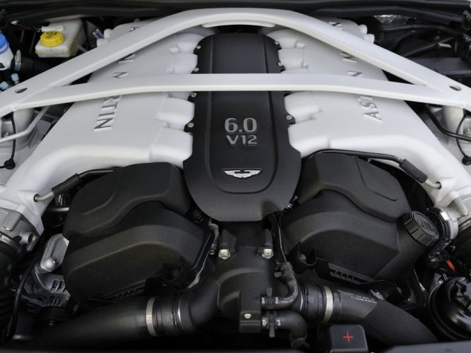 2013 Aston Martin Vanquish Centenary Edition UK-spec engine h wallpaper
