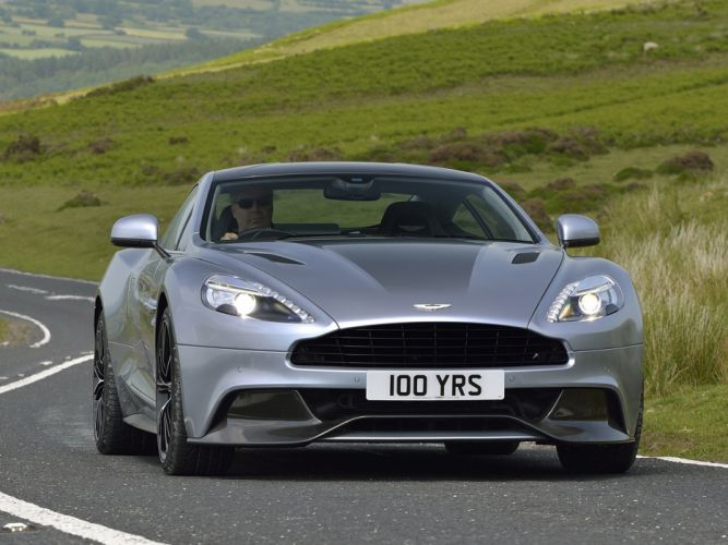 2013 Aston Martin Vanquish Centenary Edition UK-spec tw wallpaper