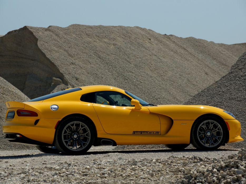 2013 Dodge Geiger SRT Viper supercar  d wallpaper