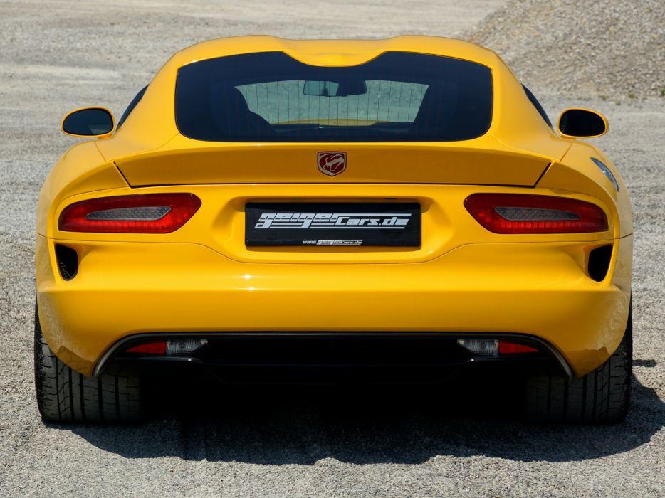 2013 Dodge Geiger SRT Viper supercar  t wallpaper