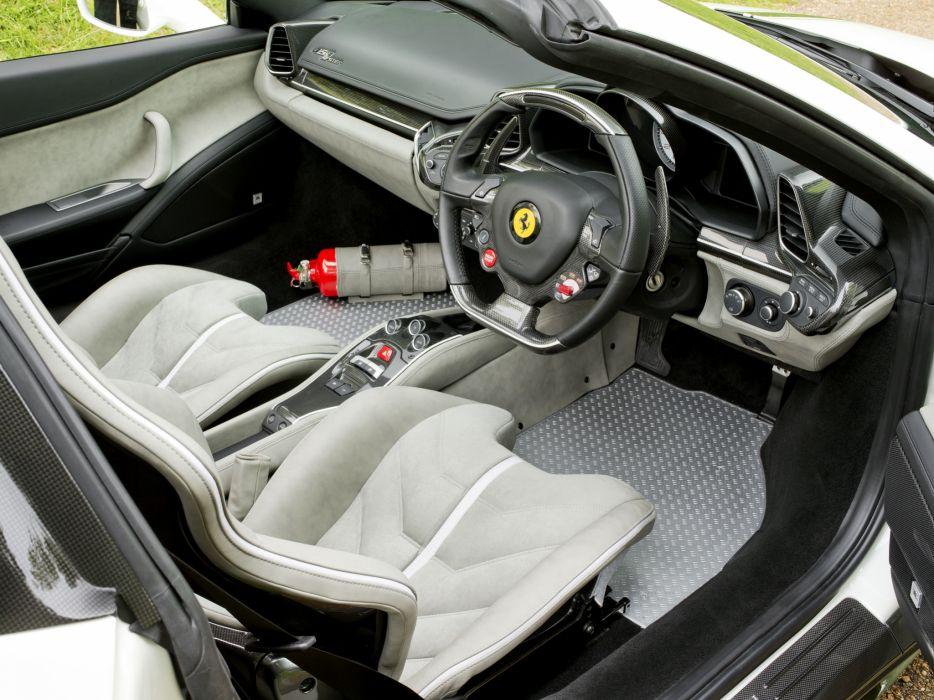 2013 Ferrari 458 Spider Tailor Made Uk Spec Supercar Interior G