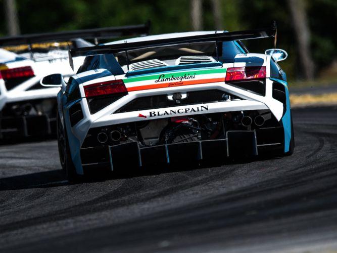 2013 Lamborghini Gallardo LP 570-4 Super Trofeo supercar race racing g wallpaper