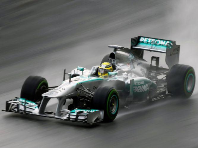 2013 Mercedes GP MGP W04 Formula One race racing f-1 t wallpaper