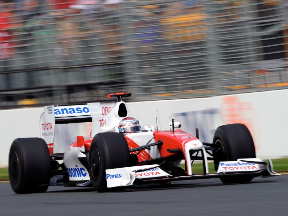 2089 Toyota TF109 Formula One race racing f-1  t wallpaper