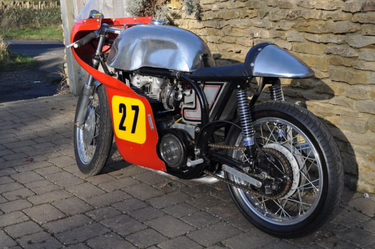 1956 Norton Dominator racer retro y_JPG wallpaper