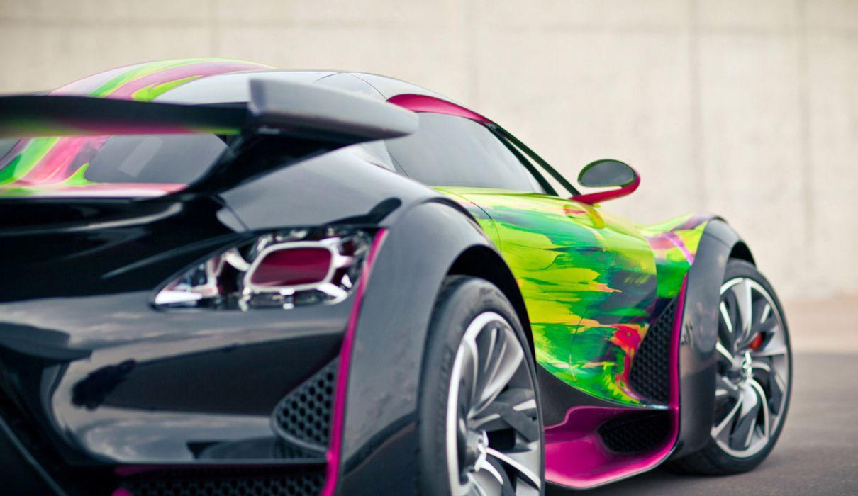 Citroen Survolt Concept Art Car Wallpaper 2400x1388 166171