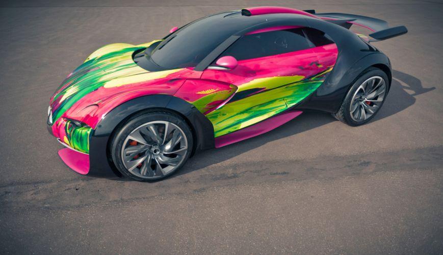 Citroen Survolt Concept Art Car wallpaper