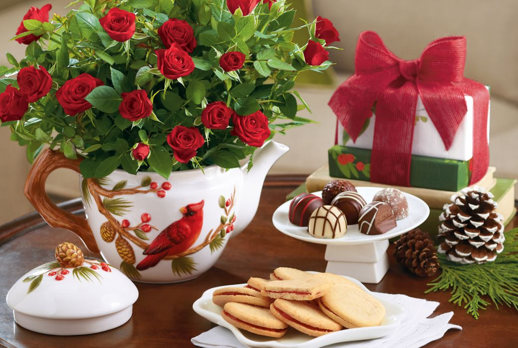 candy cookies holidays chocolate wallpaper