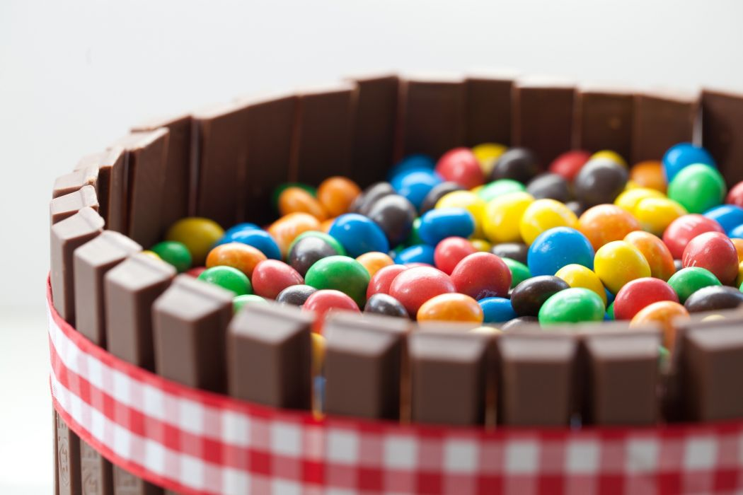 Candy Jelly Beans Chocolate Sweets Wallpaper